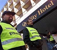 UTVIDER: Hotell- og restuarantarbeiderforbundet tar ut nye hoteller i streik.