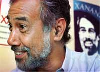 Frihetshelten og geriljalederen Xanana Gusmao vant en overveldende seier i Øst-Timors første presidentvalg. (Foto: AP)