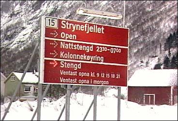 Heilårsvegen over Strynefjellet vart opna i 1978.