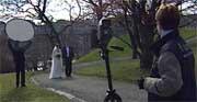 Märtha og Aris bilder tas inne i Stiftsgården, og ikke ute i naturen.