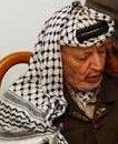 Også Yasir Arafat og palestinerne har tapt anseelse internasjonalt. (AP-foto)