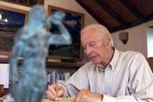 Thor Heyerdahl (Foto: Scanpix/AP/Ramon de la Rocha)