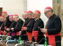 Kardinaler i Vatikanet.