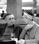 Kjærligheten mellom Sartre og  de Beauvoir var grunnfjellet. Knallhardt.