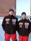 Kjetil Holen fra Hamar og Petter Nyquist fra Bærum planlegger ny polekspedisjon.