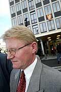 Karsten Klepsvik, pressetalsmann i UD, venter på rapport fra UDI. (Arkivfoto: Terje Bendiksby, Scanfoto)