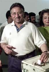 Pakistans president Pervez Musharraf. (AP-Scanpix-foto)