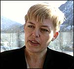 Astrid S�gnen. Foto: Bernt Baltzersen, NRK