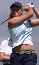 Suzann Pettersen spilte strålende på slutten.