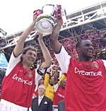 Arsenal vant cupfinalen mot Chelsea i fjor.