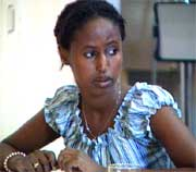 Kadra Noor var en av de som var med i Rikets Tilstands dokumentar om omskjæring. Foto: NRK