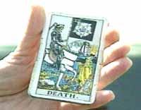 Det var i dette kortet Eva Nyberg leste Gry Hoseins skjebne
