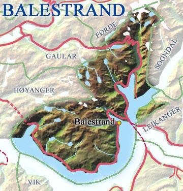 (Kart:  © Statens Kartverk/Steinar Lote, NRK.