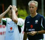 Keane ble sendt hjem fra VM etter en skikkelig klasj med trener Mick McCarty.