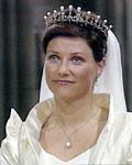 Prinsessen under vielsen. (Foto: NRK)
