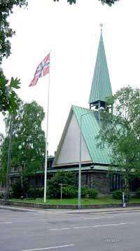 Den norske sjømannskirken i København. Foto: Sjømannskirken