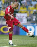 IMPONERTE: Hasan Sas gledet mange med sitt vingspill for Tyrkia under VM. Bayern neste? (Foto: Reuters).