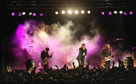 Kaizers Orchestra vil trolig også få stor oppmerksomhet i forbindelse med sin Roskilde-konsert (foto: Tom Gustavsen).
