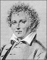 Esaias Tegnér teikna av Maria Röhl i 1829.