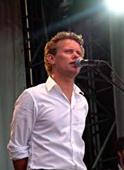 Bo Sundstrøm så kanskje på konserten i Frognerbadet som en tur på landet? Foto: Per Ole Hagen.