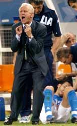 Italia og Giovanni Trapattoni ble slått ut av sommerens fotball-VM av Sør-Korea.