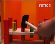 NRK Alltid Bankebrett: Småbarn kan se på bankebrett-banking 24 timer i døgnet