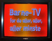Nå kommer bleie-TV, hysj, hysj, hysj...
