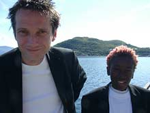 Erik Smith-Meyer og Kingsford Siayour.