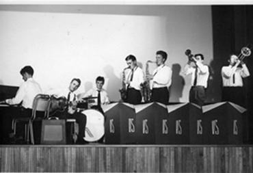 Hot Seven, 1958 (Lars-Helge til høgre)