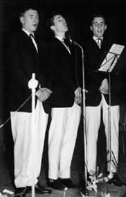 Brødrene Brothers, 1959 Lars-Helge (v). Alf (h)