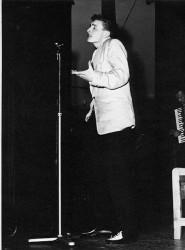 Lars-Helge på amatørkonkurranse, 1957