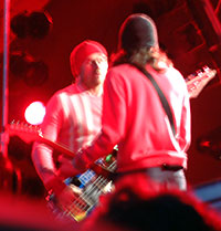 Red Hot Chili Peppers på Roskilde 02.