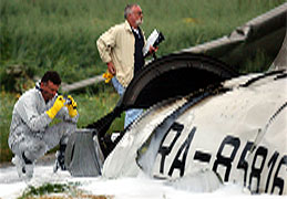 71 personer omkom i flyulykken over Sør-Tyskland.