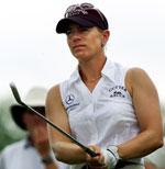 Annika Sörenstam er verdens klart beste kvinnelige golfspiller. (Foto: Reuters)