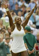 Serena Williams har god grunn til å jube (Foto: Lamarque/Reuters)