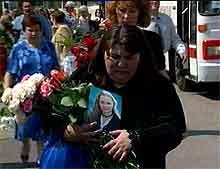 Det var i dag en stor minnesmarkering for de russiske flyofrene.
