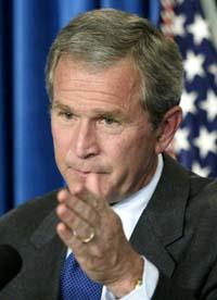 USAs president Bush får den støtten han trenger i Kongressen(Foto: William Philpott, Reuters)