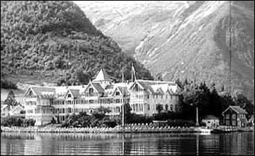 Kvikne's hotell i keisartida etter 1900.