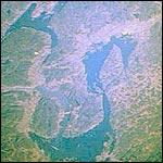 Oslofjorden sett fra verdensrommet