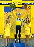 Lance Armstrong opplever ikke bare smerte i Tour de France.