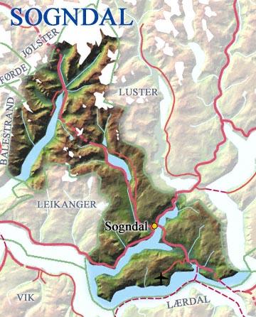 (Kart: Statens Kartverk og Steinar Lote, NRK)