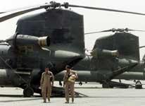 Amerikanske soldater ved Bagram flybase (foto: Reuters).