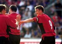 I morgen kan Manchester United og Ole Gunnar Solskjær ta enda et steg mot seier i mesterligaen. United kan bli det andre laget i historien som vinner finalen på sin egen hjemmebane.