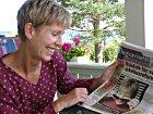 """Karin Fossum gledet seg over fine kritikker for sin andre roman dette året, """"Svarte sekunder""""."""