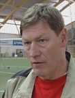 Sportslig leder Reidar Vågnes vil gjerne beholde treneren fremover.