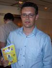 """Lars Mæhle debuterte i 2002 med ungdomsromanen """"Keeperen til Tunisia""""."""