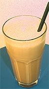 Iskaffe Mokka laget av barista Alexander Scheen.
