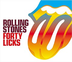 "Stones-Samlingen ""Forty Licks""."