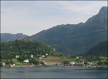 Stongfjorden i Askvoll. (Foto: Arild Nybø, NRK)