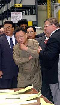 Nord-Koreas leder Kim Jong-Il går i Kinas fotspor og oppretter økonomiske frisoner. (Arkivfoto: AP/Scanpix)